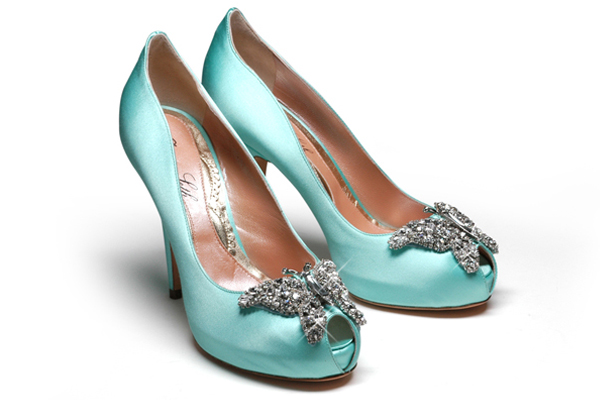 wedding shoes tiffany