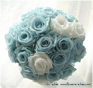 wedding bouquet tiffany