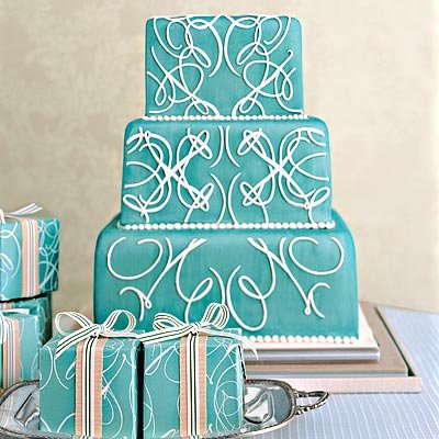 wedding cake tiffany